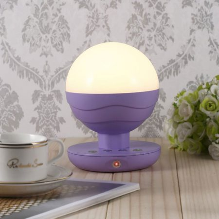 Indoor Outdoor Cordless LED Table Lamp with Fingerprint Touch