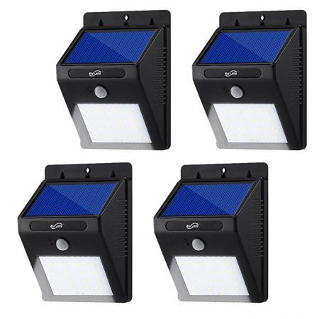 Outside Waterproof Solar Powered Garden LED Lights