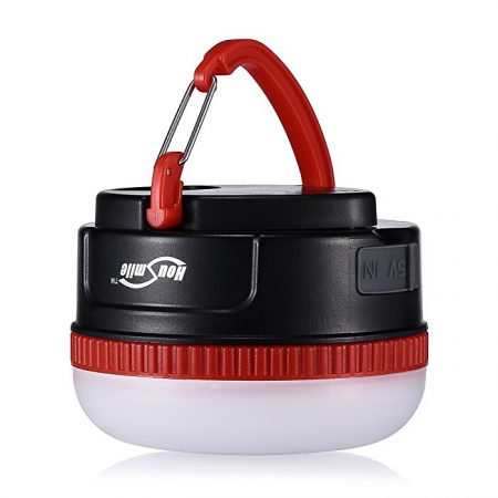 Battery Operated Camping Lanterns for Charging Mobile Phones
