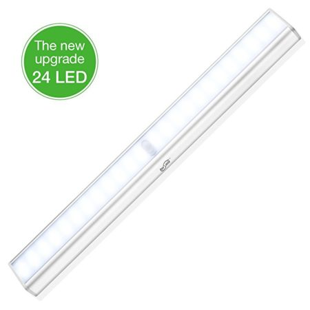 Housmile Rechargeable LED Closet Light , Motion Activated Under Cabinet Lighting